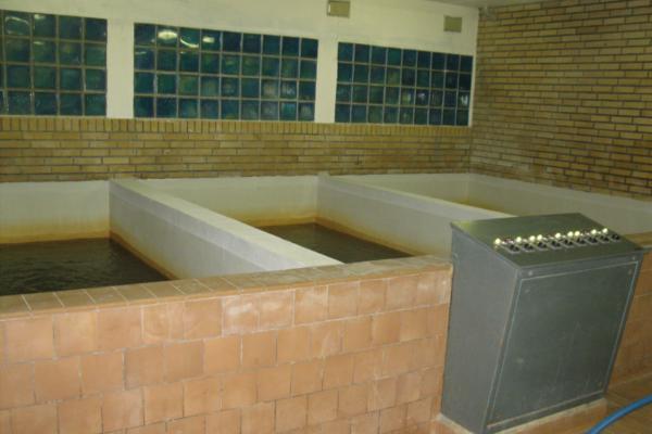 Rentvandskar i åbent filteranlæg på vandværk