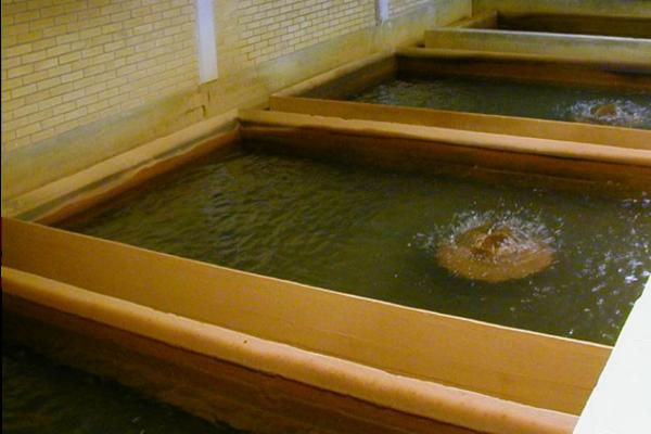 Iltning af drikkevand i et åbent filteranlæg