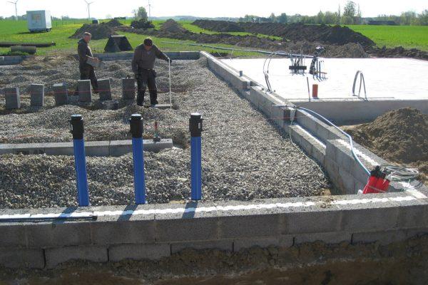 Nybygning af vandværk