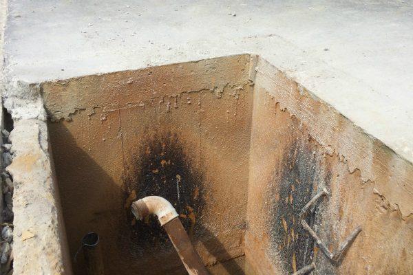 Renovering af åbne filtre på vandværk