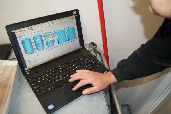 Indkøring af vandværk styringssytem
