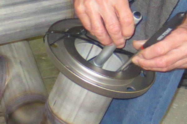 Kvalitetskontrol af rustfri svejsning