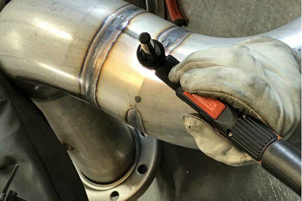Svejsning af rust fri stål til vand værk