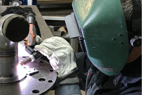 Svejsning af rustfri stål til vandværk