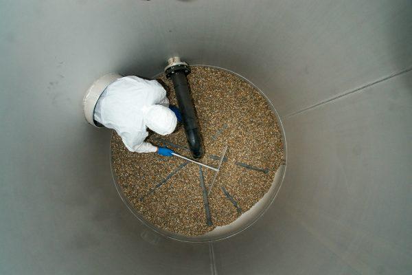 Bærelag i sandfiltre til drikkevand